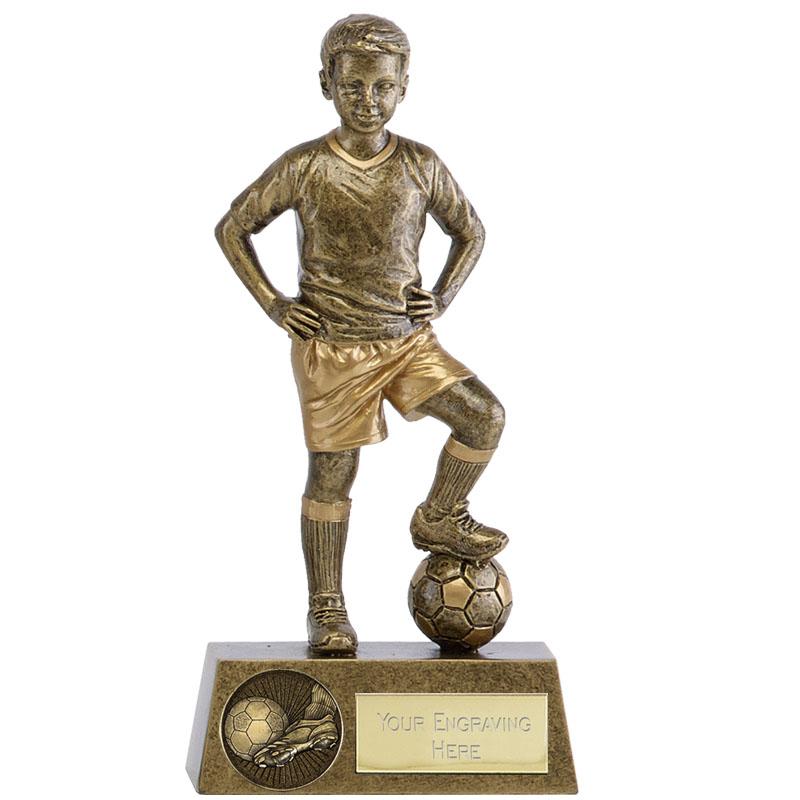 6 Inch Boys Soccer Football Phoenix Statue