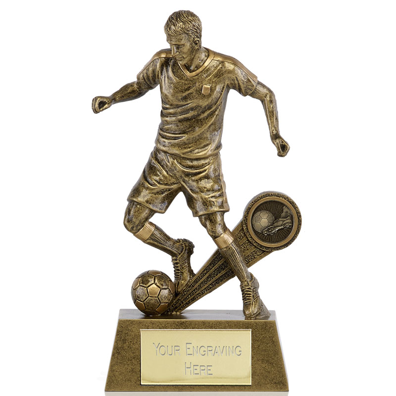 6 Inch High Detail Kick Football Shazam Statue