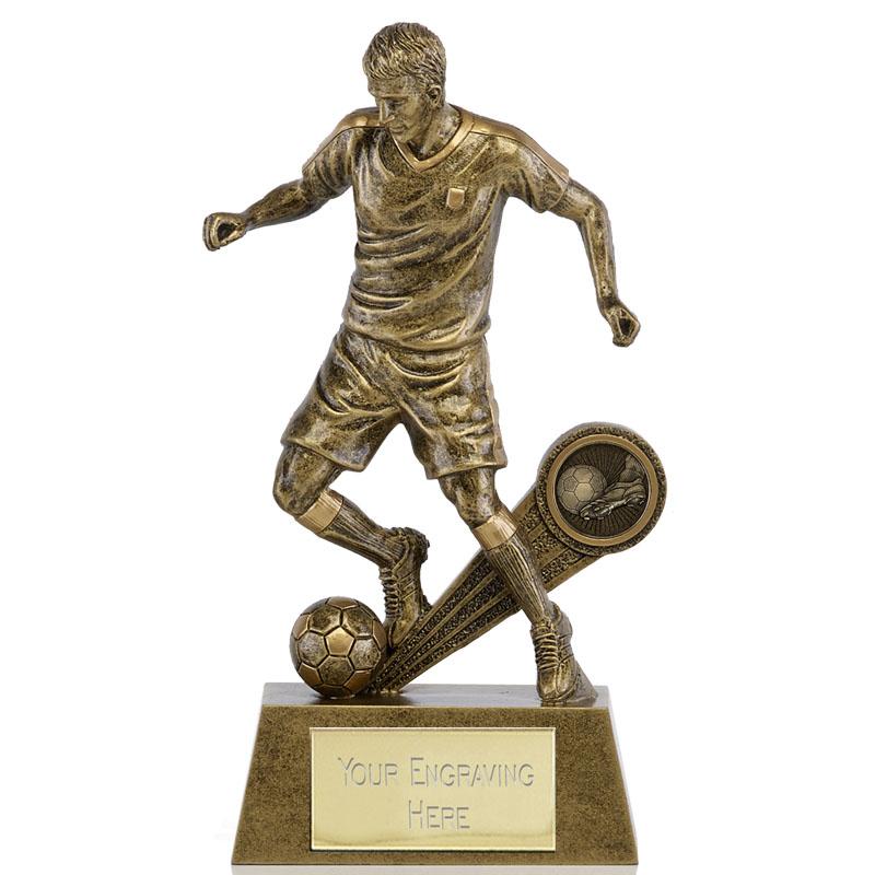 8 Inch High Detail Kick Football Shazam Statue