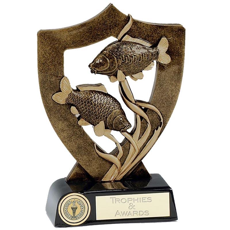 5 Inch Carp Fish Fishing Award
