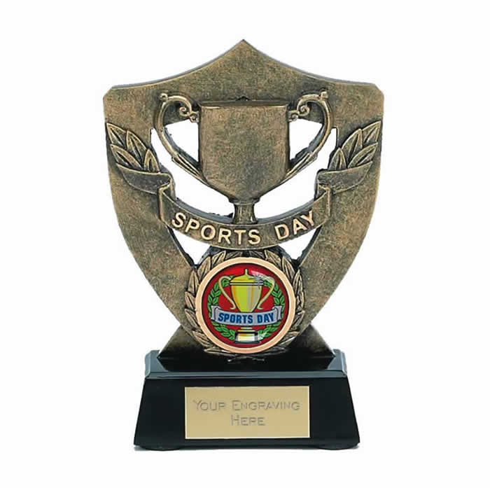 5 Inch Shield Sports Day Award