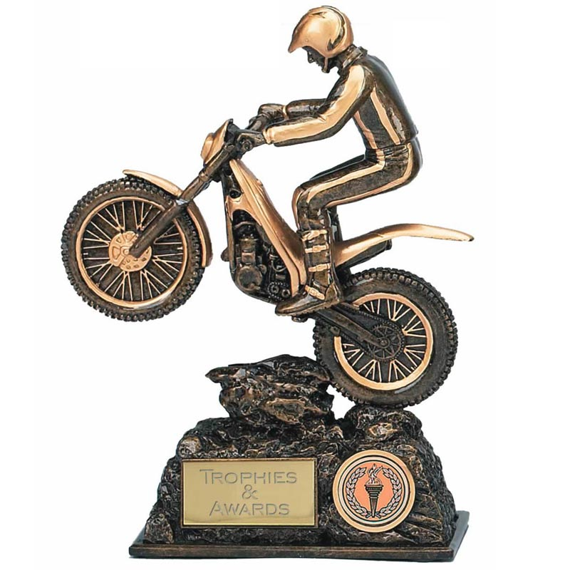 9 Inch Trials Bike Motor Sport Award