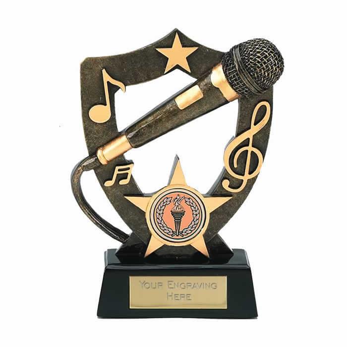 5 Inch Microphone Music Award
