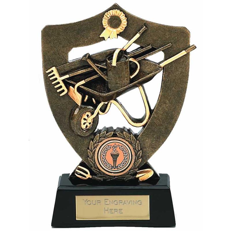 7 Inch Wheelbarrow And Tools Gardening Award