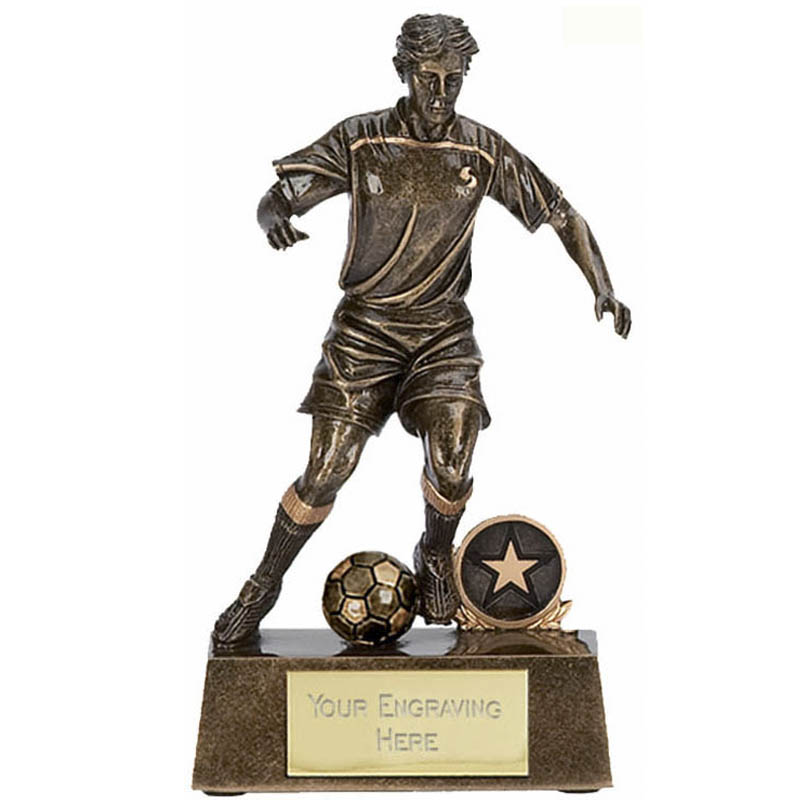 5 Inch Male Striker Football Award