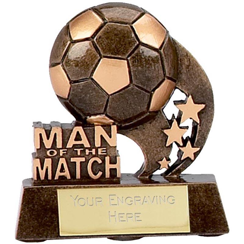 3 Inch Man Of The Match Ball Football Award