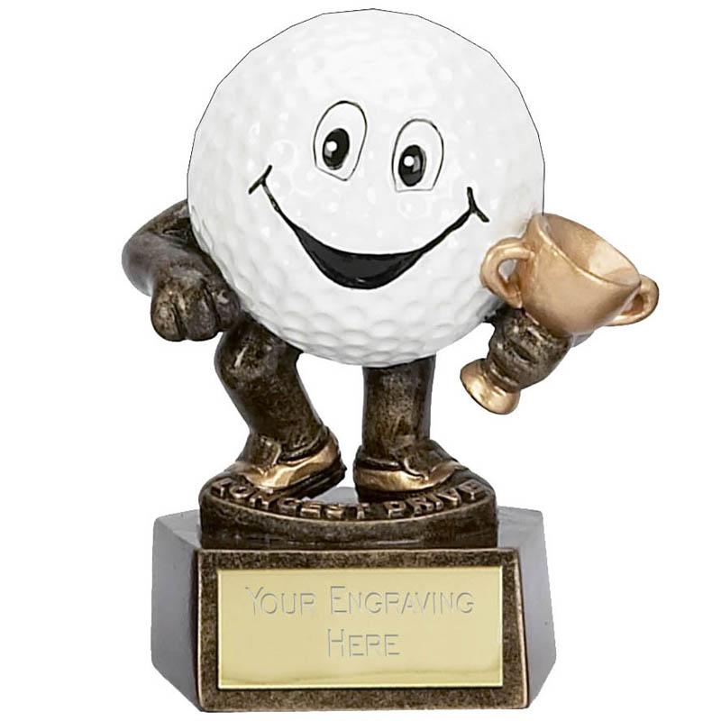 3 Inch Golf Ball Man Nearest The Pin Golf Award