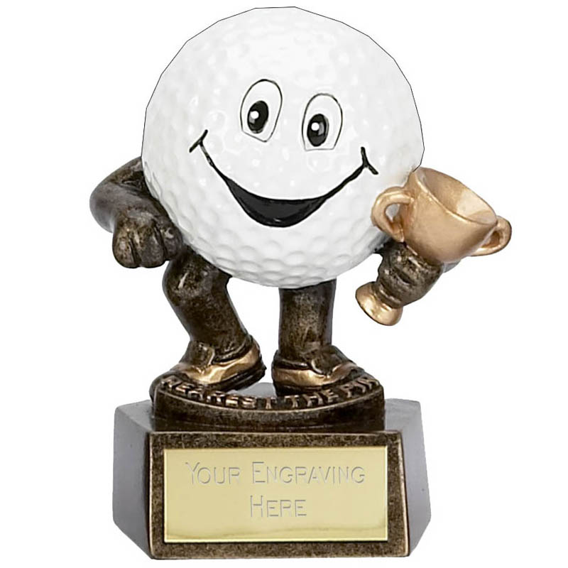 3 Inch Golf Ball Man Longest Drive Golf Award