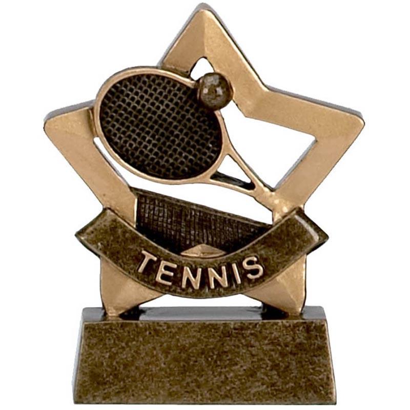 3 Inch Mini Star Tennis Award