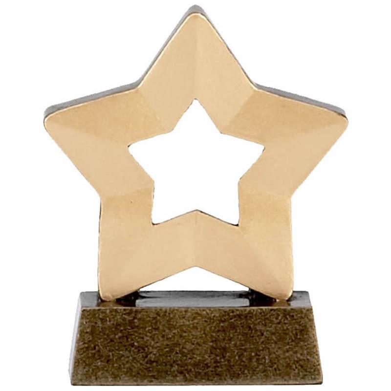 3 Inch Mini Star Plain Award