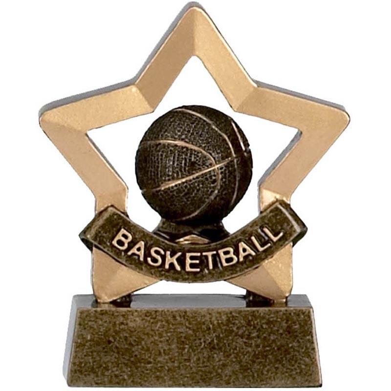 3 Inch Mini Star Basketball Award