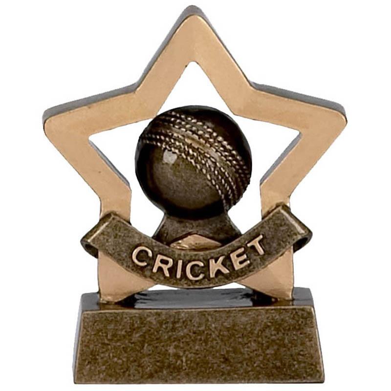 3 Inch Mini Star Cricket Award
