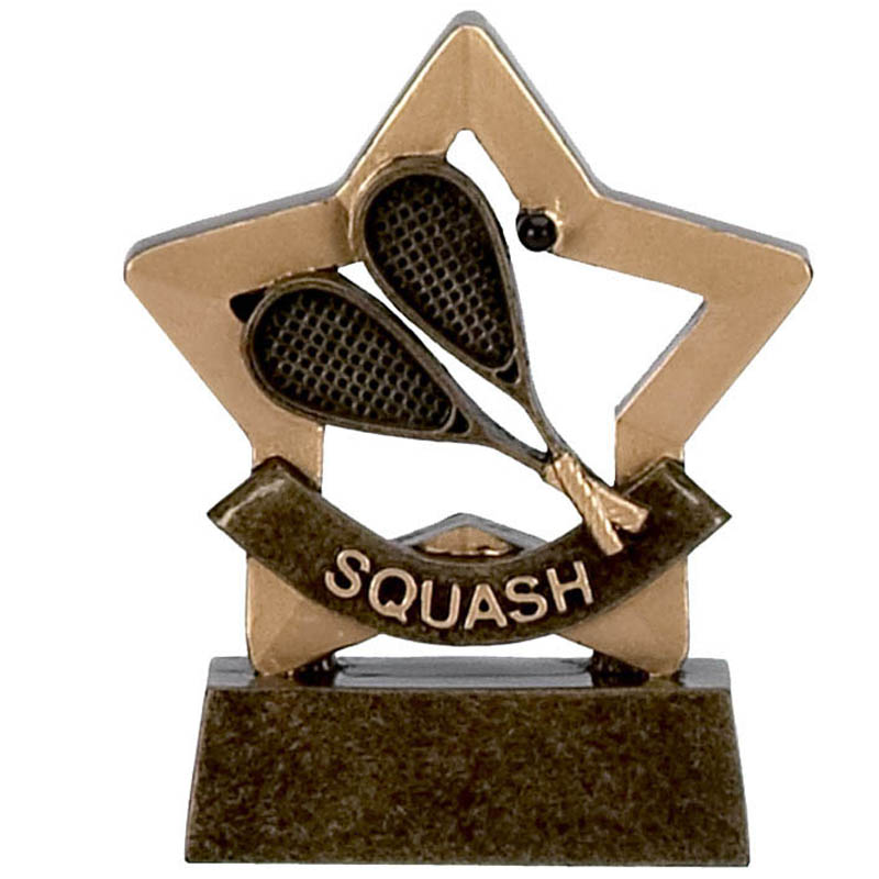 3 Inch Mini Star Squash Award