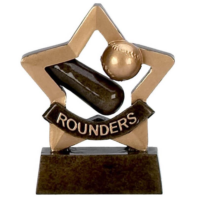 3 Inch Mini Star Rounders Award