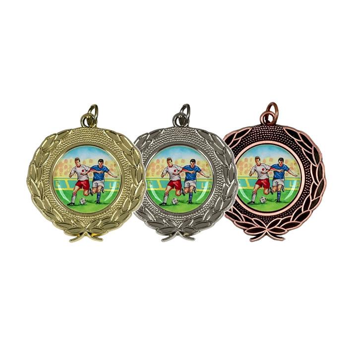 50mm Silver Laurel Wreath Winners Medal