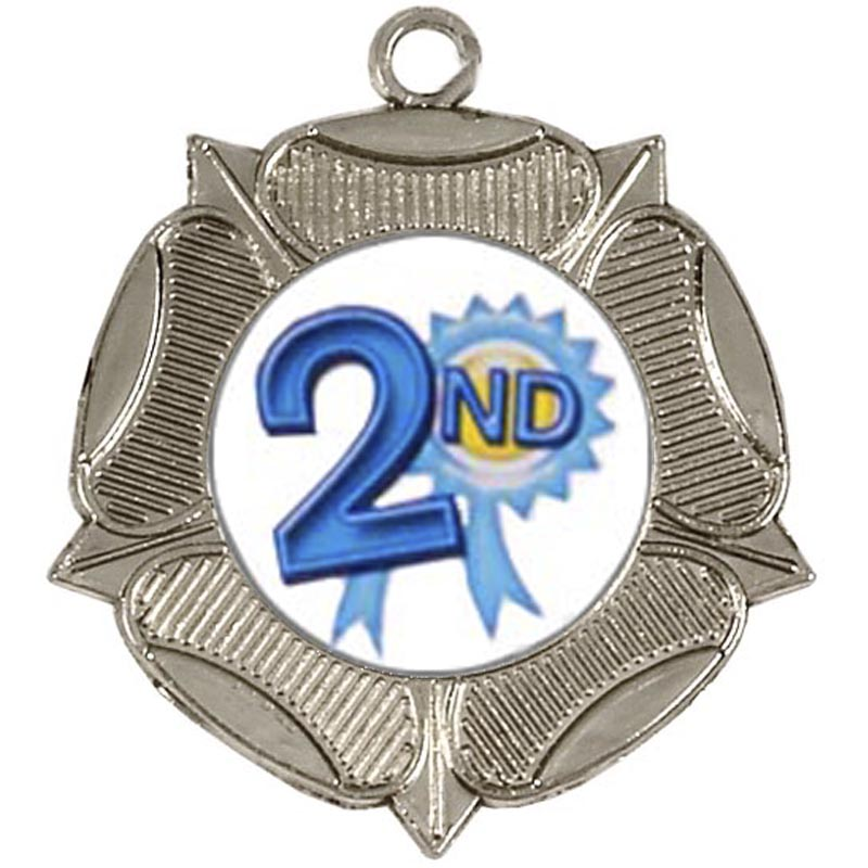 50mm Rose Silver Medal
