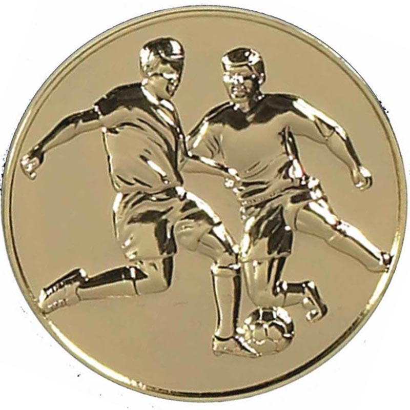 60mm Gold Supreme Football Medal