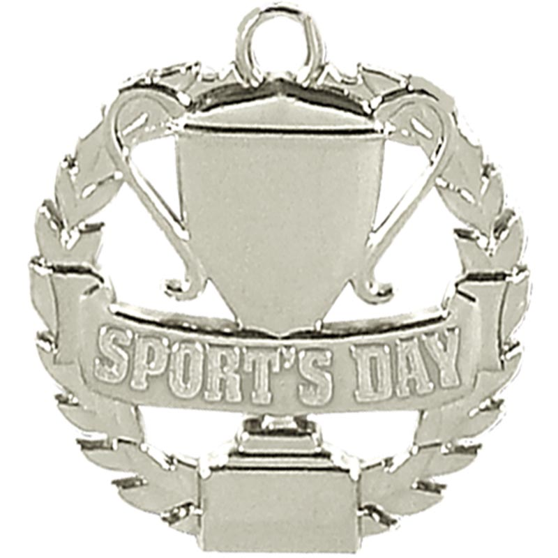 Silver Sports Day Medal