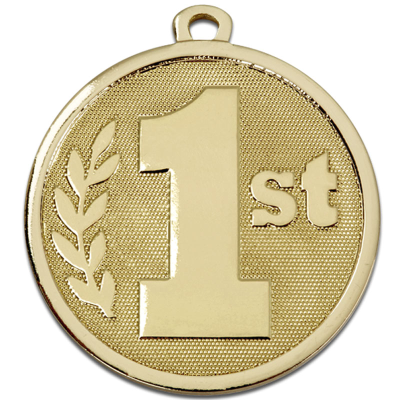 45mm Gold 1st Place Galaxy Medal