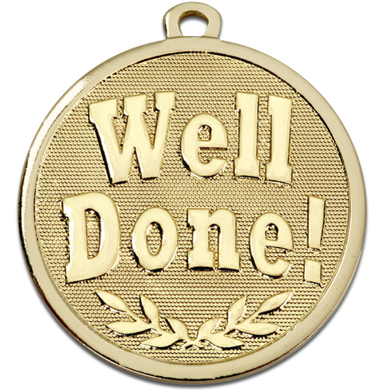 45mm Bronze Well Done Galaxy Medal