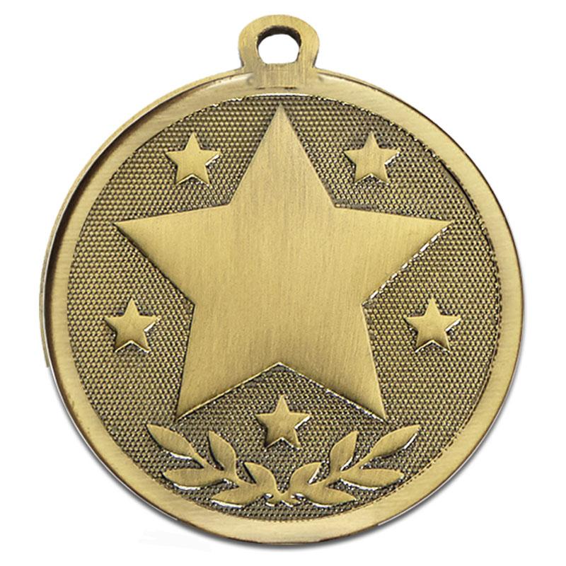 45mm Bronze Star Galaxy Medal