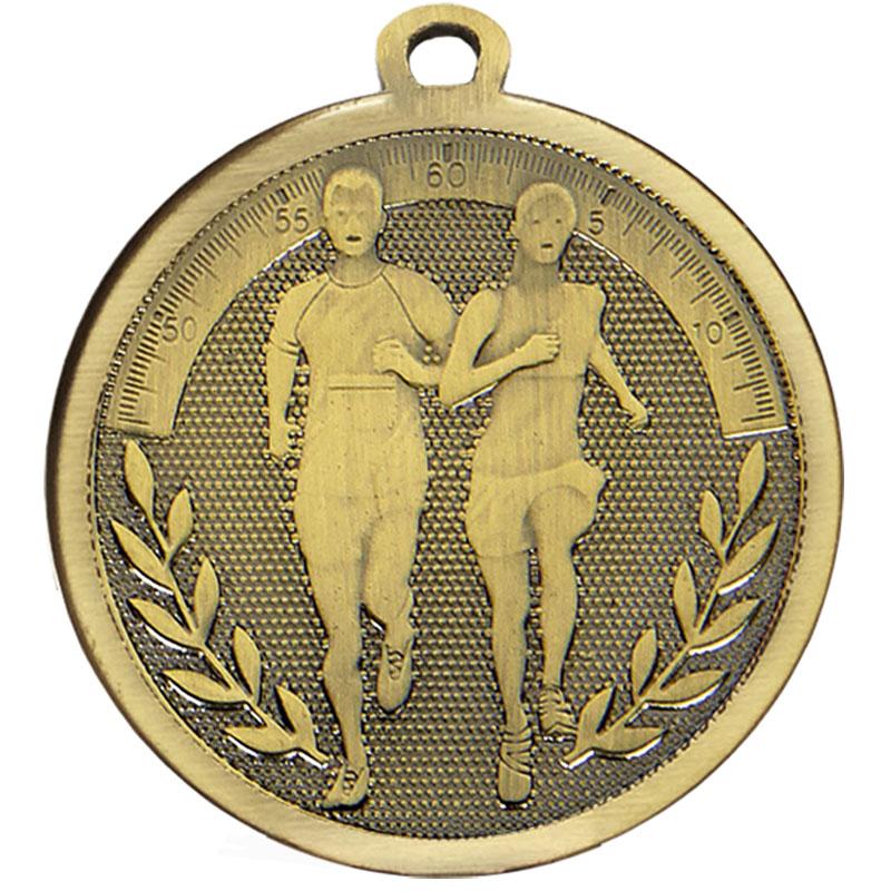 45mm Bronze Wreath Running Galaxy Medal