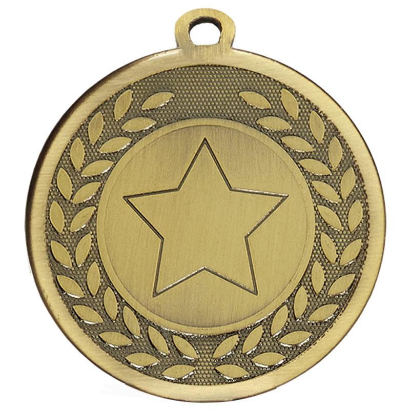 Bronze Wreath Star Galaxy Medal