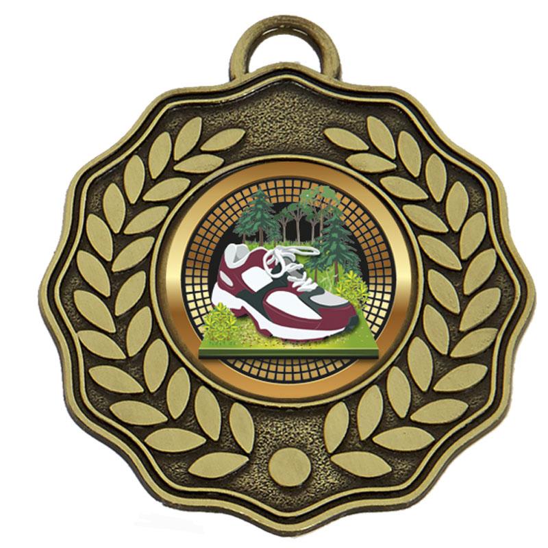 Bronze Centre Holder Wreath Target Medal