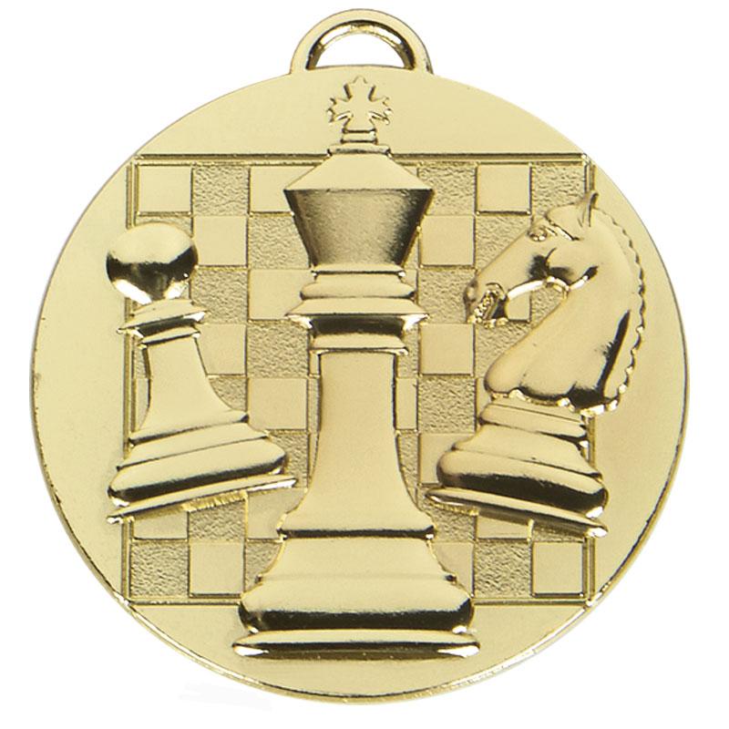 Gold Chess Target Medal
