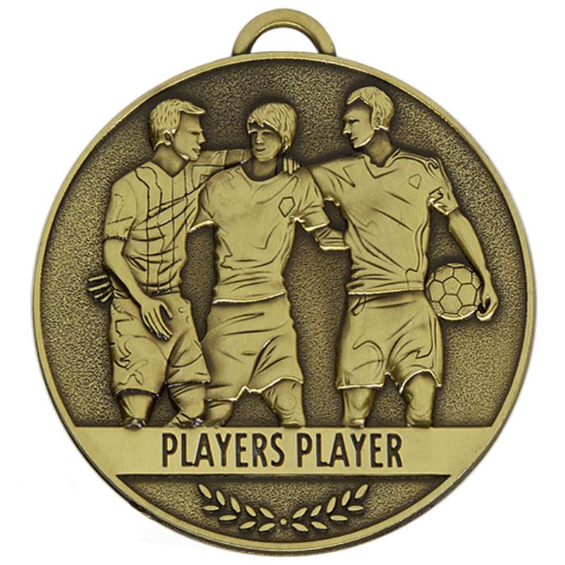 60mm Players Player Football Team Spirit Medal