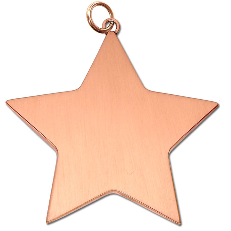 5cm Bronze Small Star Medal
