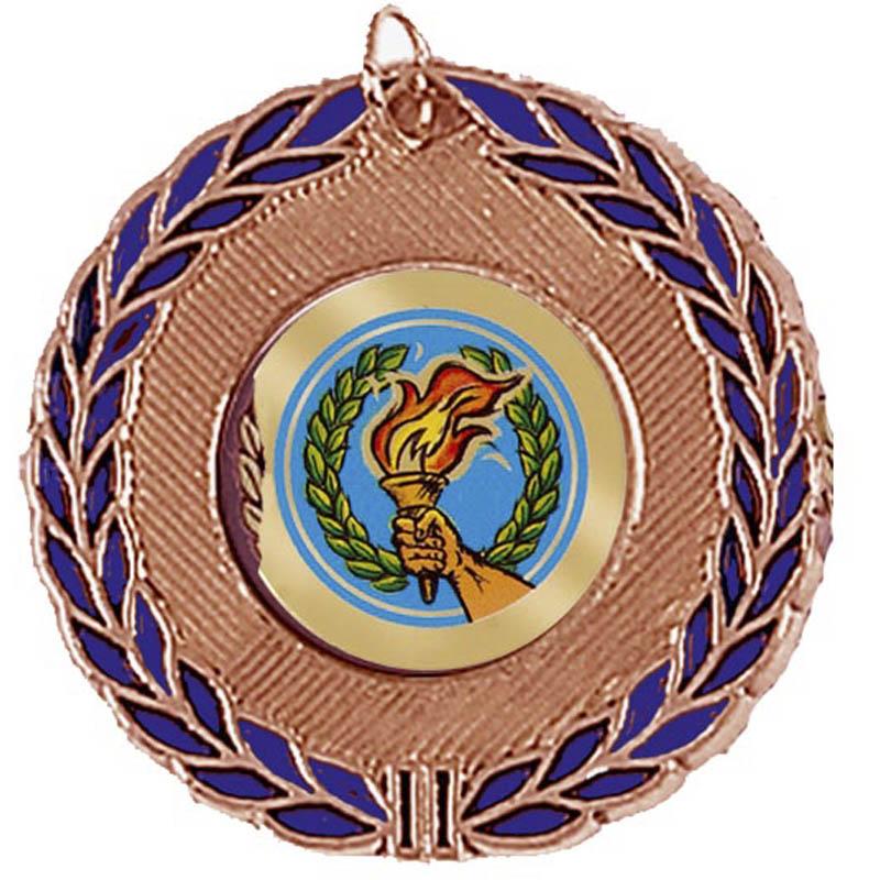 50mm Laurel Wreath Bronze Medal