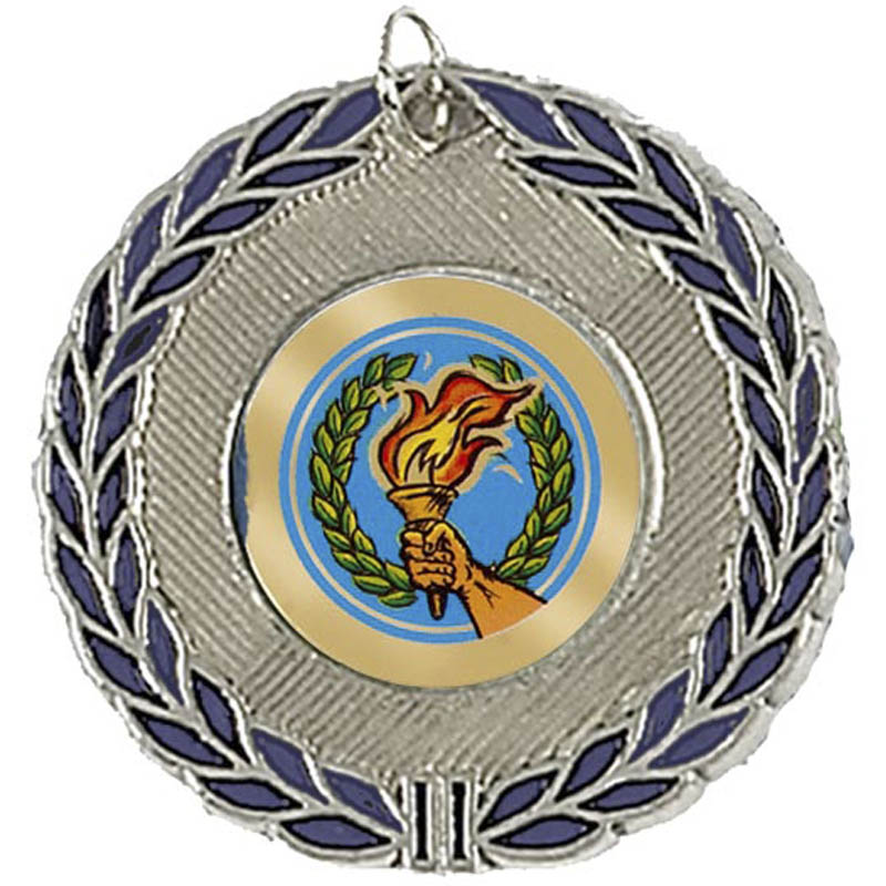 50mm Laurel Wreath Silver Medal