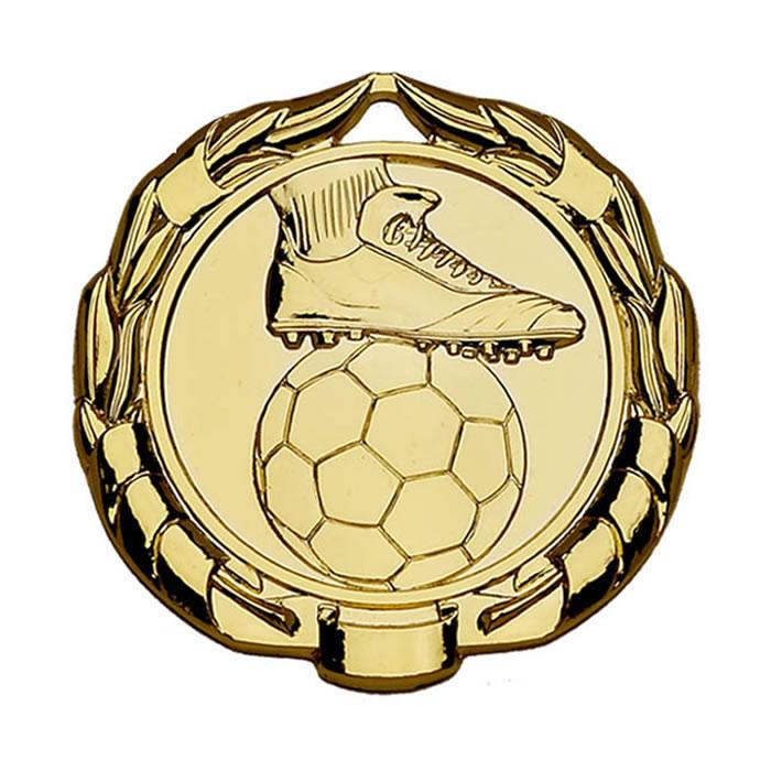 40mm Gold Sparta Football Medal