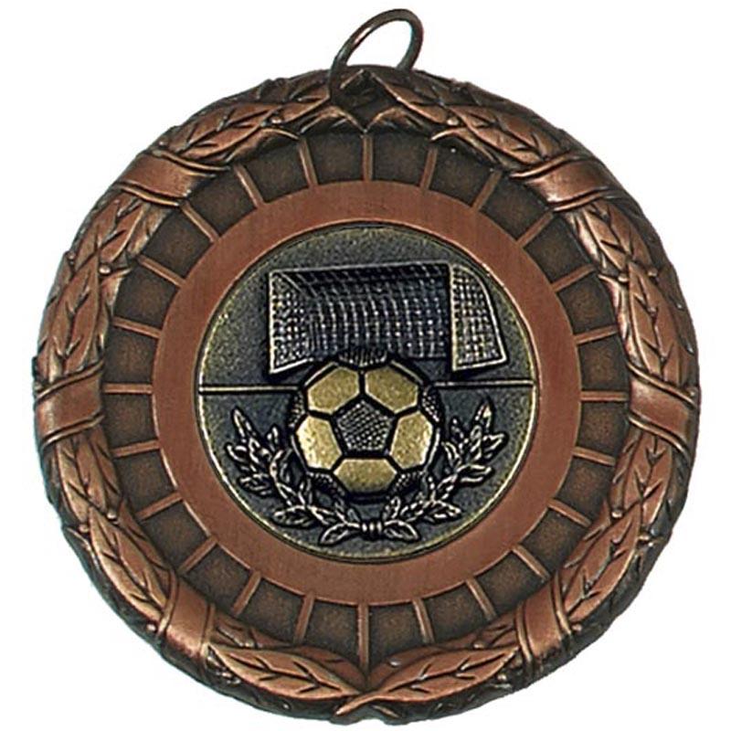 Bronze Centre Holder Laurel Medal
