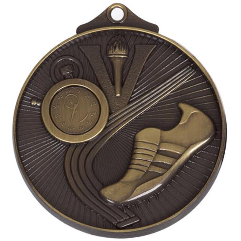 52mm Bronze Horizon Athletics Track Medal