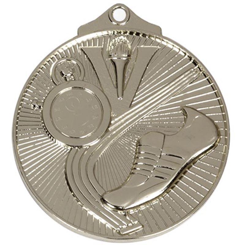 52mm Silver Horizon Athletics Track Medal