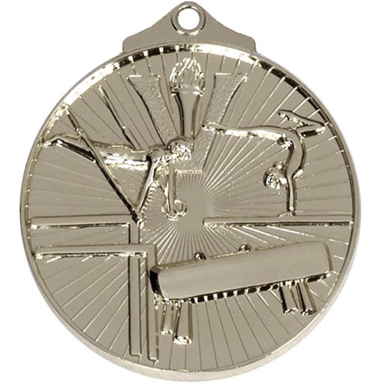 52mm Silver Horizon Gymnastics Medal