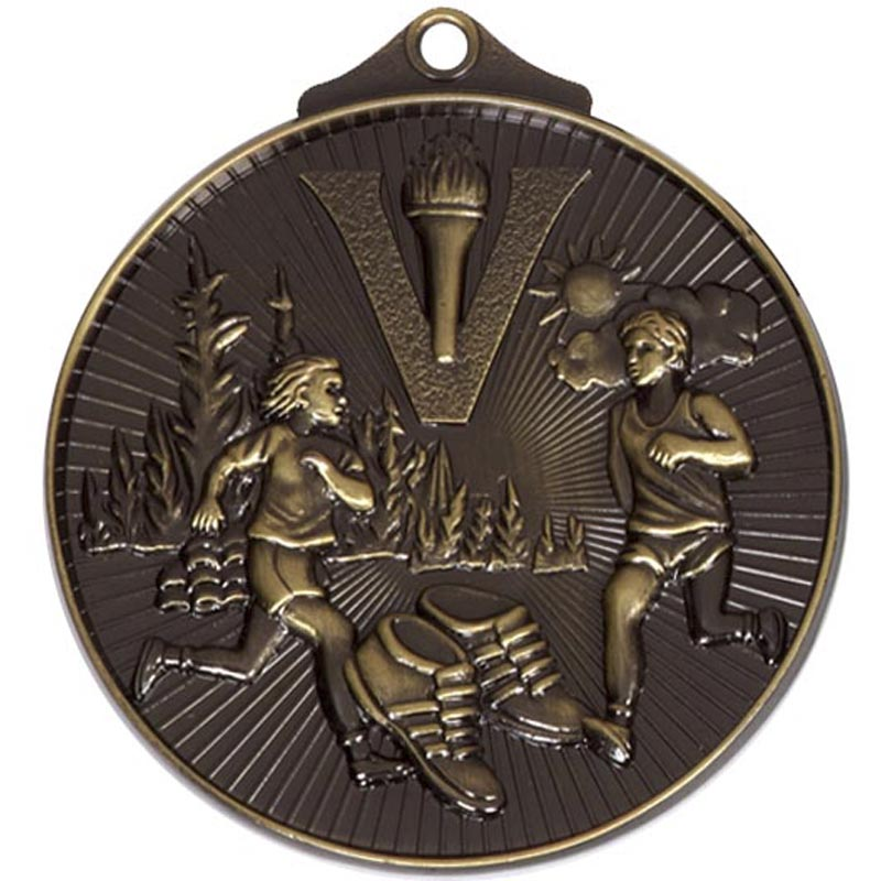52mm Bronze Horizon Cross Country Medal