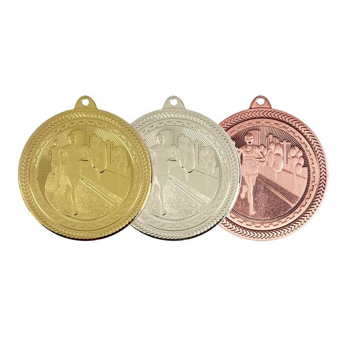 50mm Gold Marathon Medal