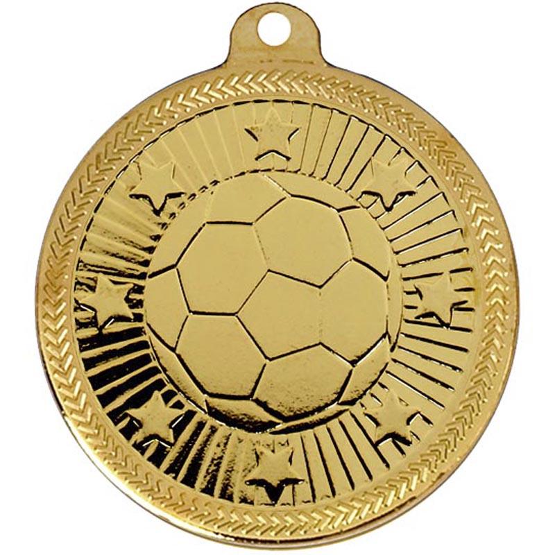 50mm Via Ferrata Football Gold Medal