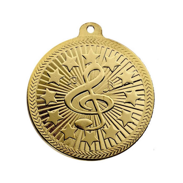 50mm Via Ferrata Music Gold Medal