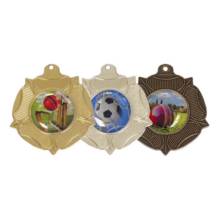 50mm Winners Via Ferrata Tudor Rose Medal