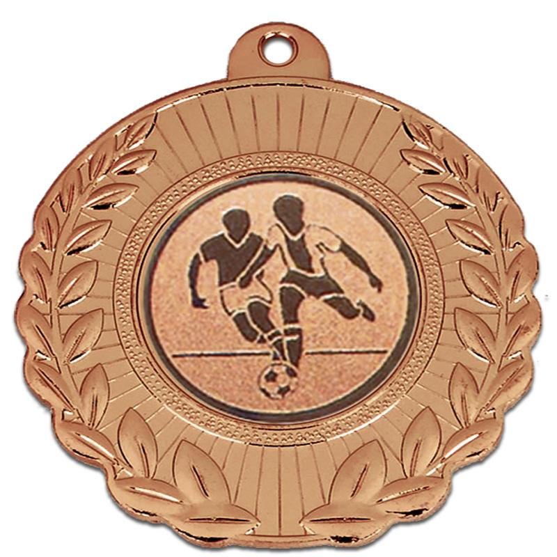 Bronze Wreath Border Laurel Medal