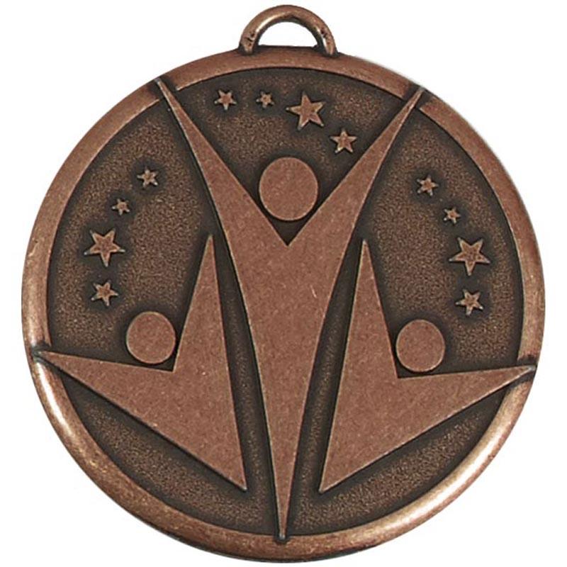 1 Inch Bronze Elation Star Medal