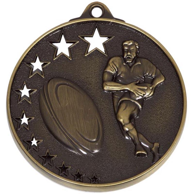 50mm Winners San Francisco Rugby Medal