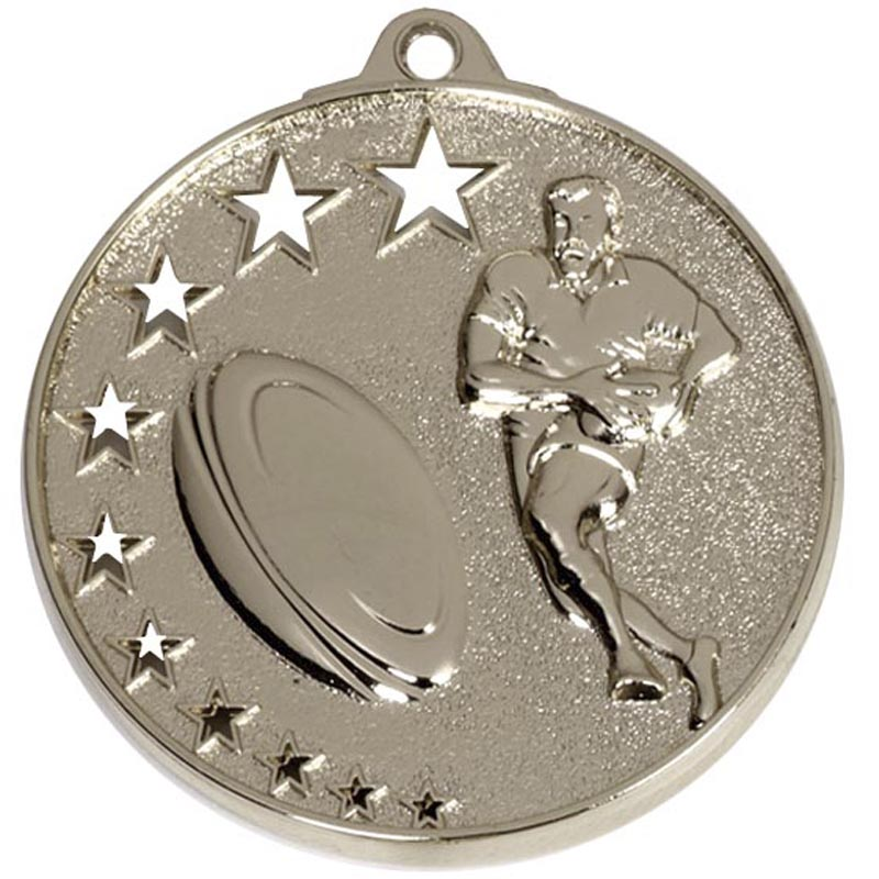 50mm San Francisco Rugby Winners Medal