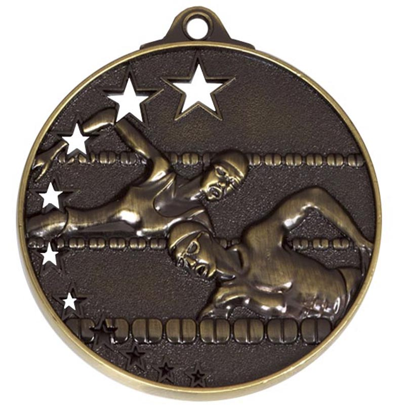 50mm Winners San Francisco Swimming Medal