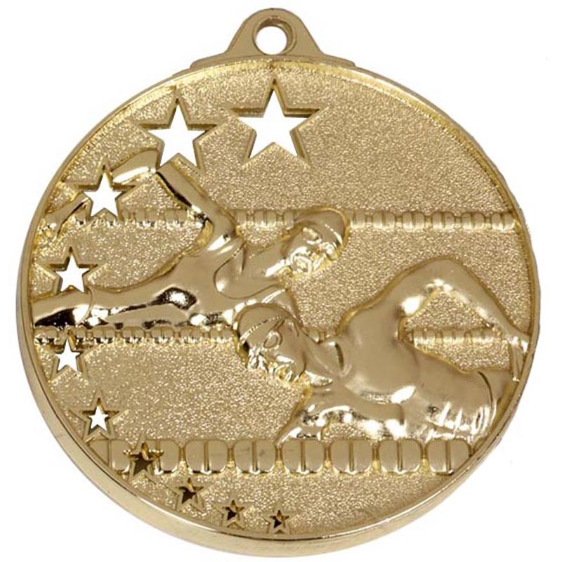 50mm San Francisco Swimming Gold Medal