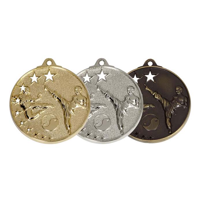 50mm San Francisco Martial Art Winners Medal